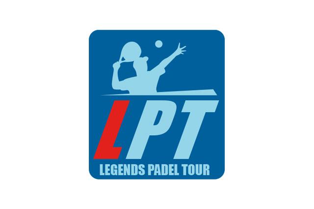Marca del evento Legends Padel Tour (LPT).