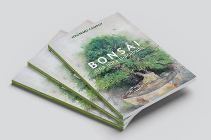 Diseño y maquetación libro de Bonsái
