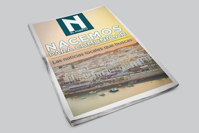 Publicación de periodico local N el puerto.