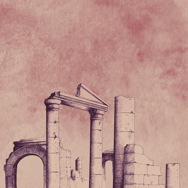 Ilustración Las Ruinas del mundo