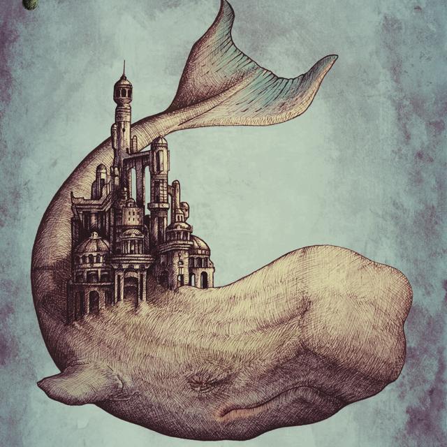 Ilustración la Ballena Dorada