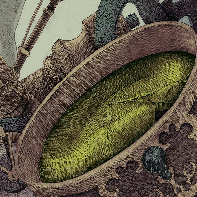 Ilustración Editorial La constelada