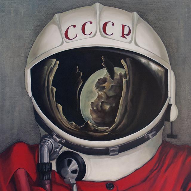 Ilustración Cosmonauta